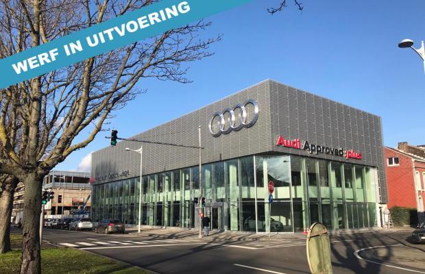 aannemer, Mathieu Gijbels, bouwen, renoveren, Emil Frey, Audi, autostadt, Luik